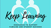 keep Learning graphic