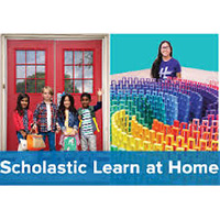 scholastic learn at home graphic