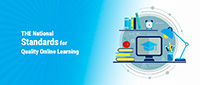 national standards for quality online learning graphic